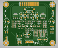 PCB top view