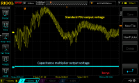 Capacitance multiplier