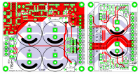PCB attached to iPSU